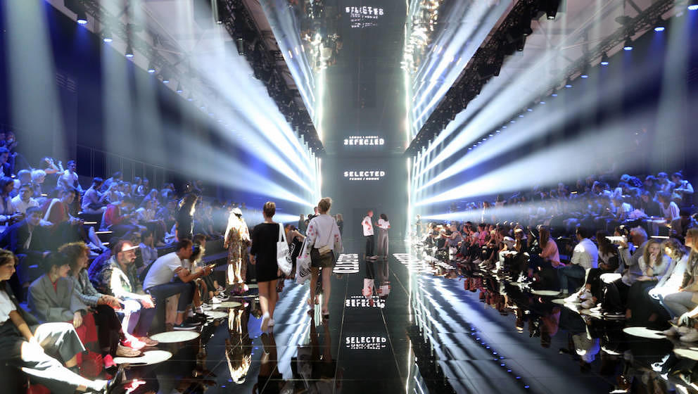 BERLIN, GERMANY - SEPTEMBER 02:  General view ahead of the Selected Femme/Homme fashion show during the Bread & Butter by