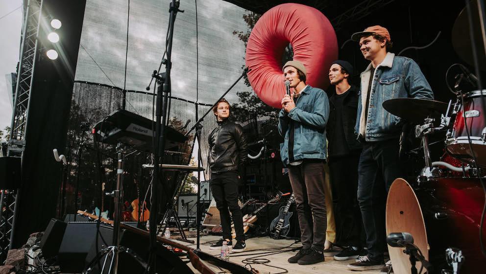 Carnival Youth kurz vor dem größten Gig ihrer Bandgeschichte