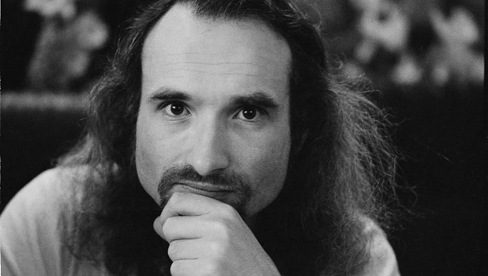 Holger Czukay von Can im Januar 1974