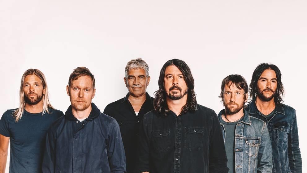 Werden älter und bleiben doch ewig jung: Foo Fighters im Jahr 2017