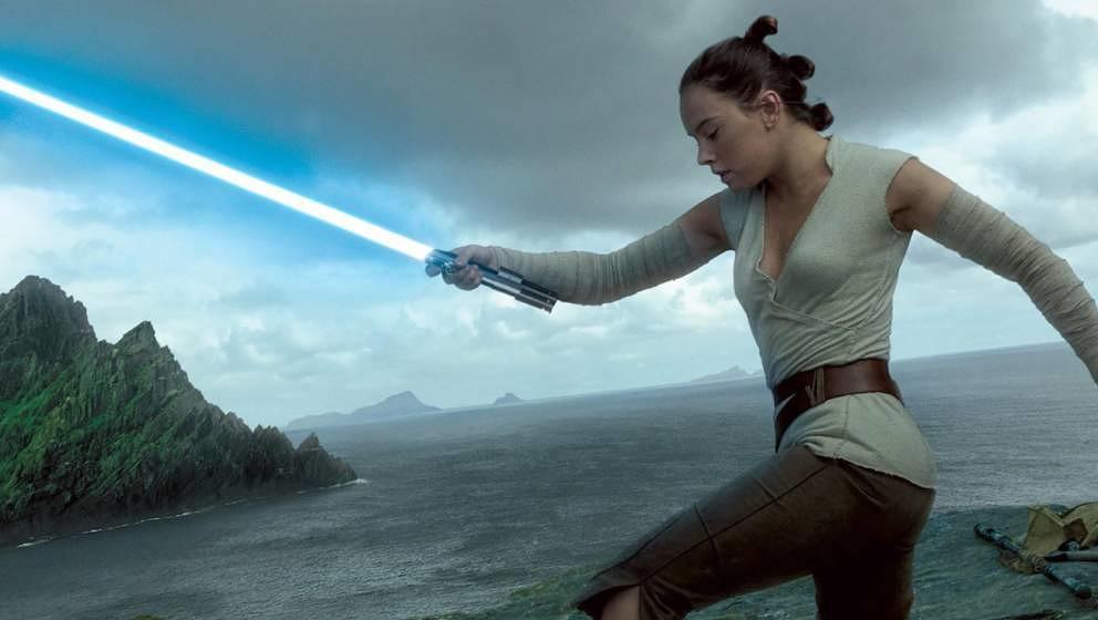 """Daisy Ridley als Rey in """"Star Wars: Die letzten Jedi"""""""