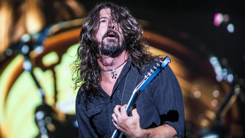 Die Foo Fighters beim Lollapalooza 2017 in Berlin.