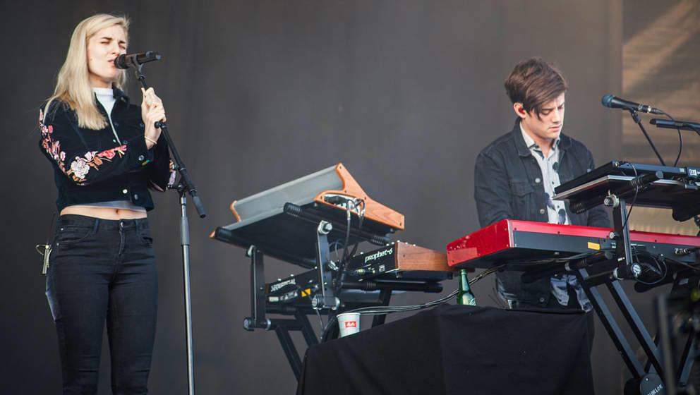 London Grammar live auf dem Lollapalooza 2017 in Berlin.