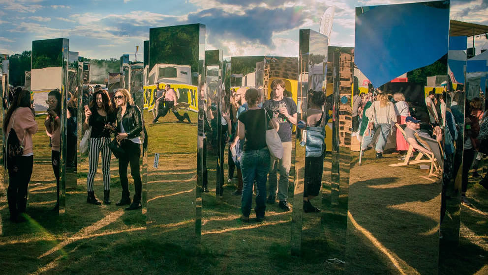 So sah das Publikum beim Lollapalooza 2017 in Berlin aus.