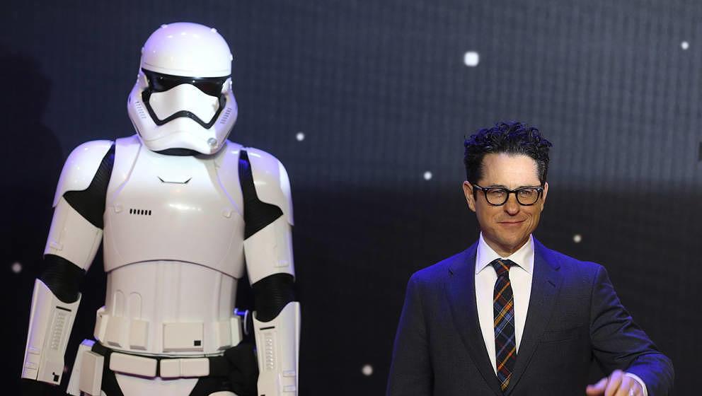 J.J. Abrams mit Stormtrooper