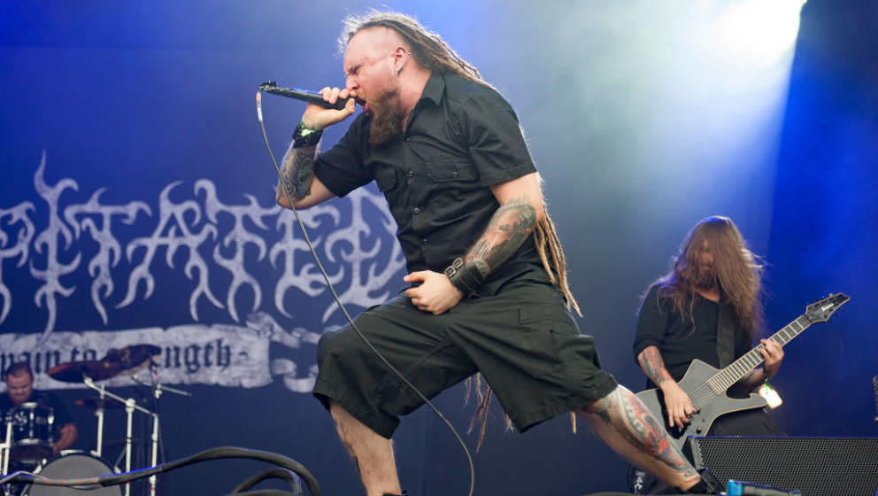 Decapitated am 17. August 2017 live auf dem Bloodstock Festival in England