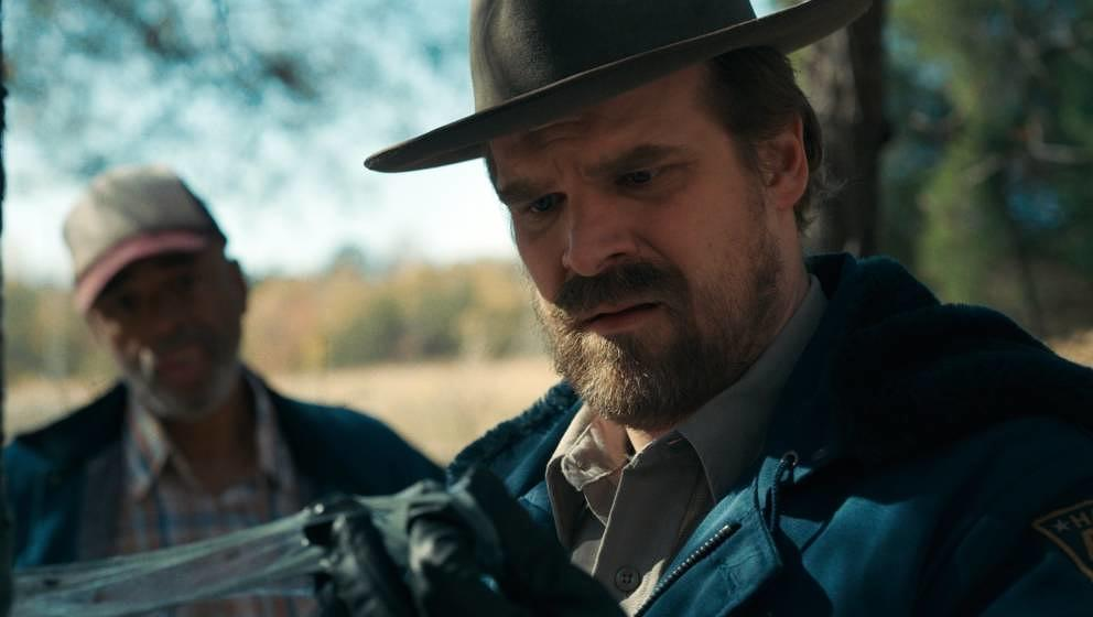 "David Harbour in ""Stranger Things""."