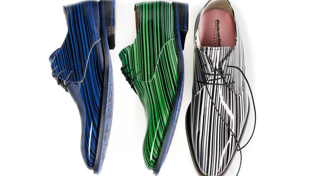 Exzentrisch und nachhaltig: Die Lacklederschnürer von Floris van Bommel