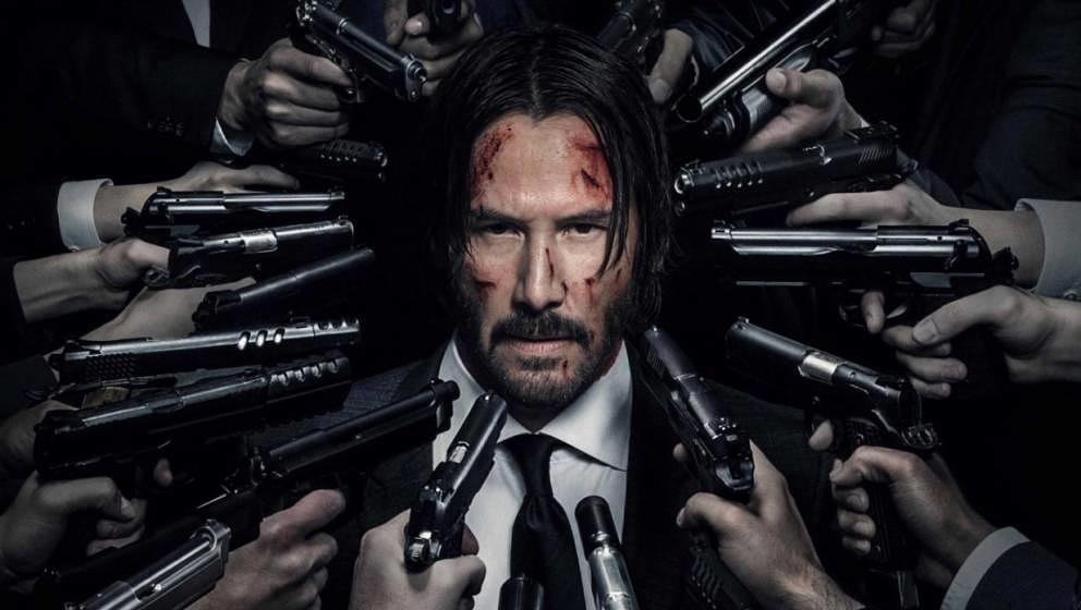 "Keanu Reeves als ""John Wick""."