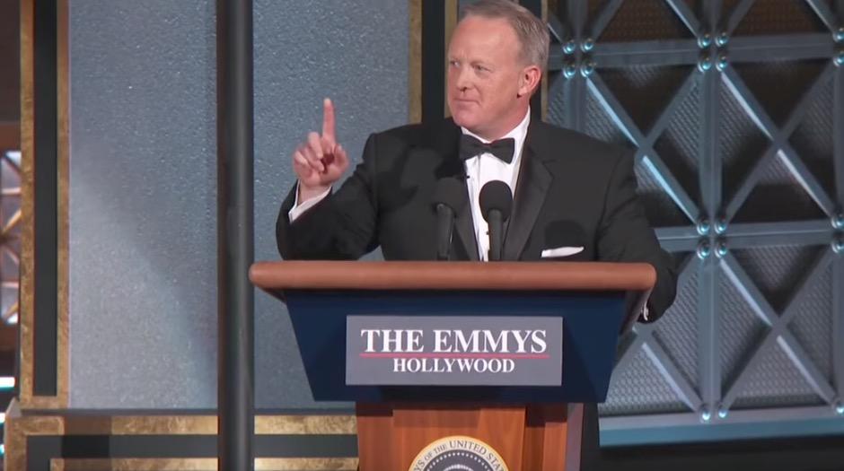 Sean Spicer bei den Emmys.