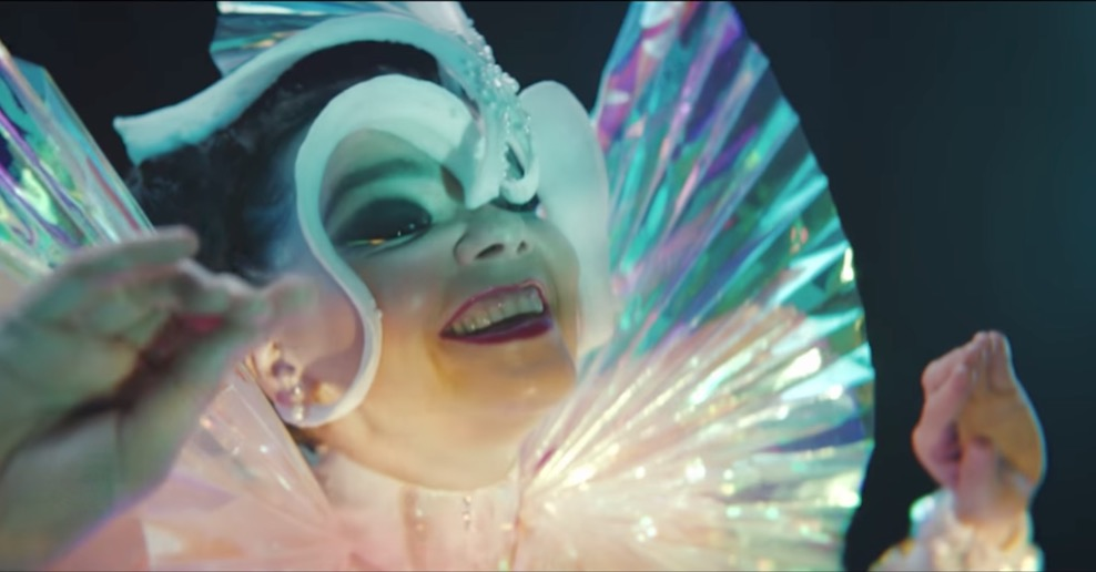 "Björk in ihrem neuen Video zu ""The Gate"""