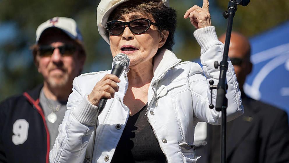 Versteht keinen Spaß bei Namen: Yoko Ono