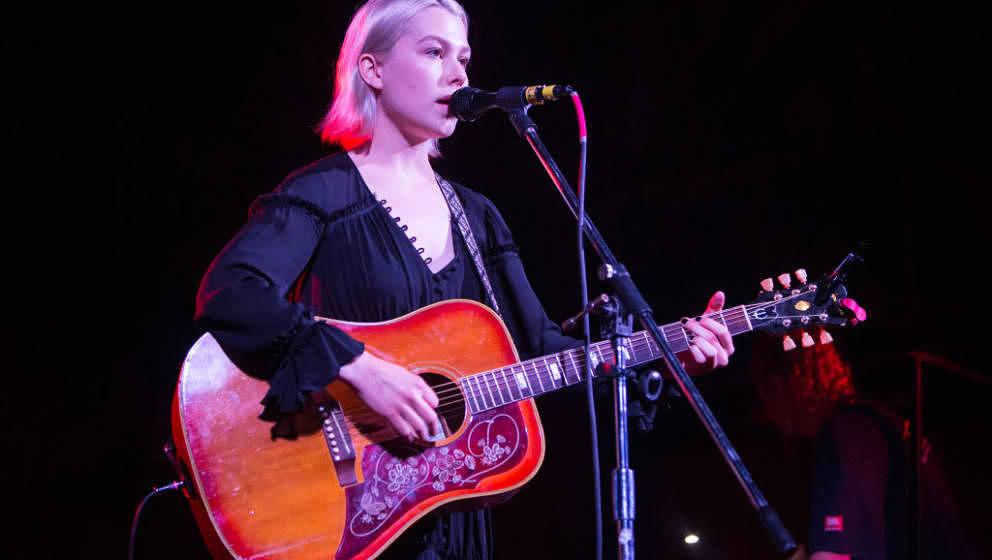 AUSTIN, TX - MARCH 18:  Phoebe Bridgers performs at the Central Presbyterian Church on March 18, 2017 in Austin, Texas.  (Pho