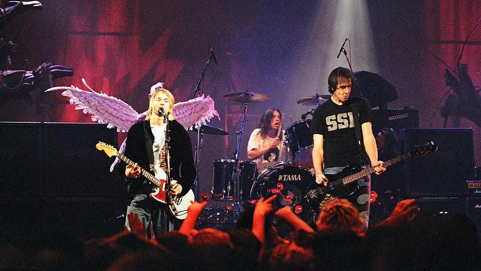 Kurt Cobain, Dave Grohl und Krist Novoselic: Nirvana live 1993