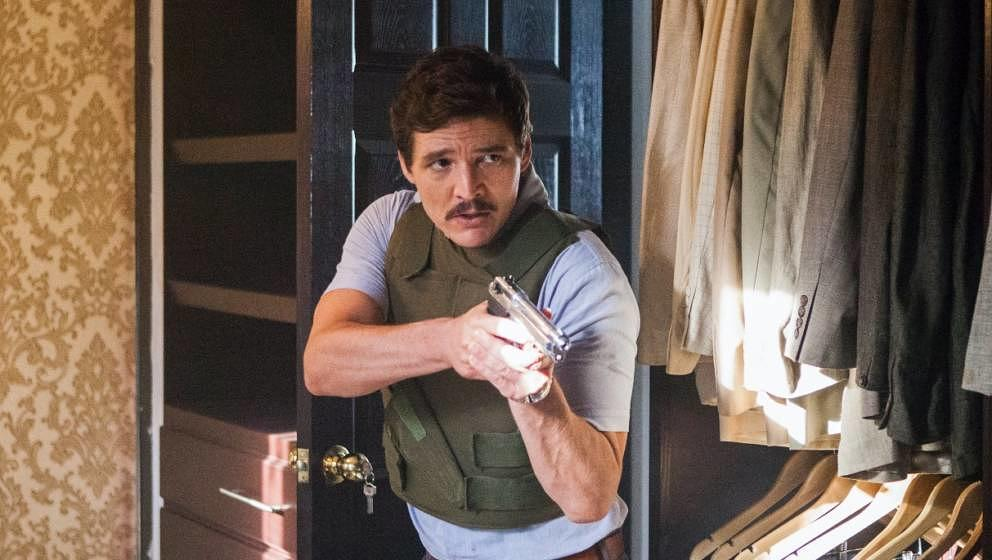 "Pedro Pascal in ""Narcos"""