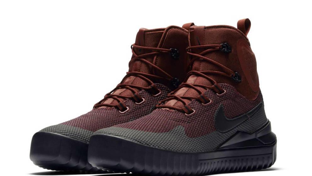 Funktionsschuh mal stylisch: Der Nike Air Wild Mid im Colourway Brown/Maroon