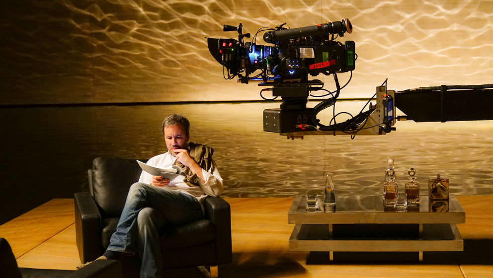 Regisseur Denis Villeneuve am Set