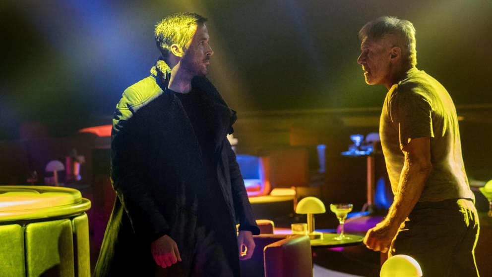 Ryan Gosling und Harrison Ford