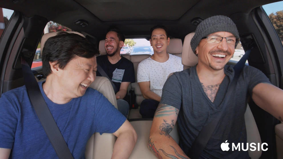 "Linkin Park bie James Cordens ""Carpool Karaoke"""