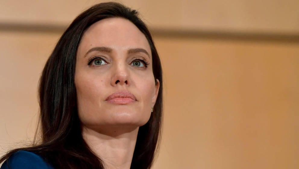 GENEVA, SWITZERLAND - MARCH 15:  UNHCR Special Envoy Angelina Jolie speaks at the annual lecture of the Sergio Vieira De Mell