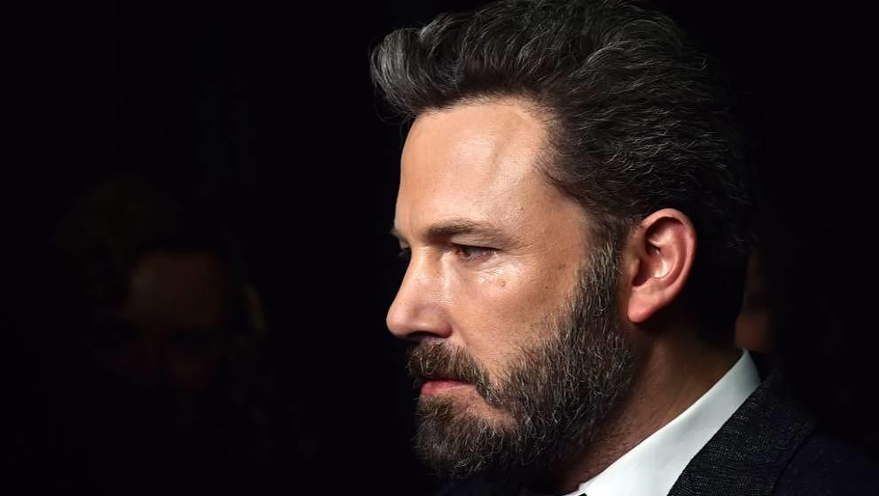 US actor and director Ben Affleck attends the premiere of 'Live by Night' at the Cinema UGC Normandie in Paris on January 16,