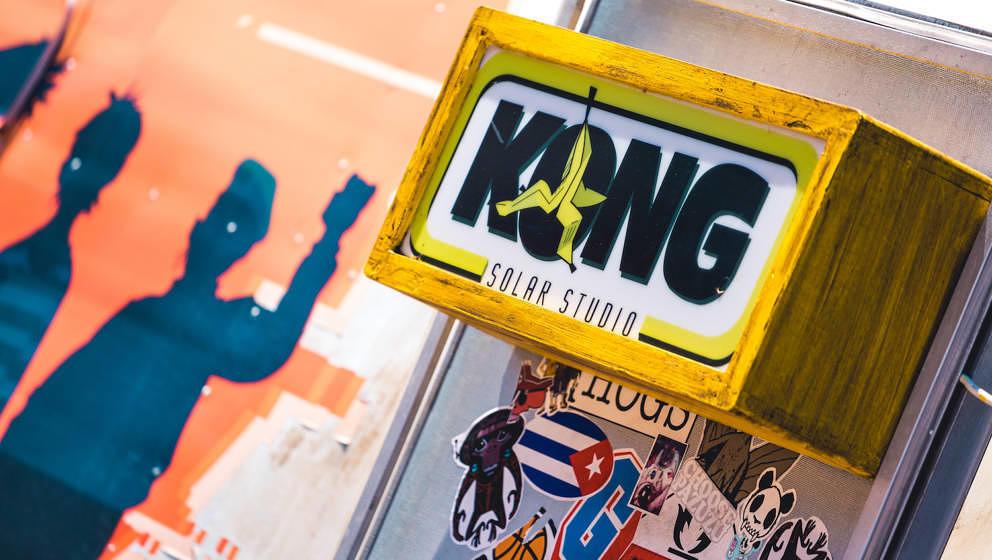 Das Kong Solar Studio der Gorillaz, in dem auch Ihr vielleicht bald aufnehmt