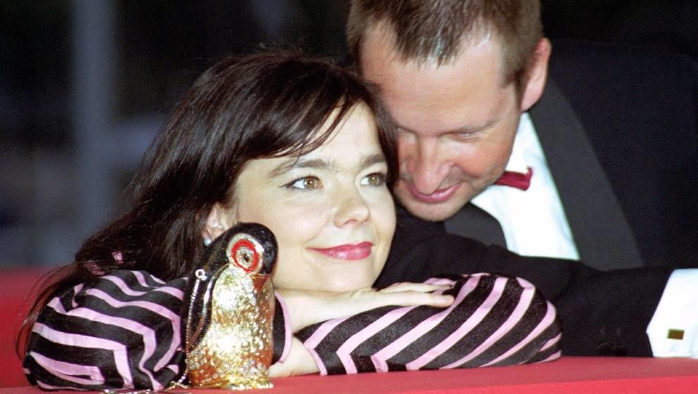 Björk mit Lars von Trier