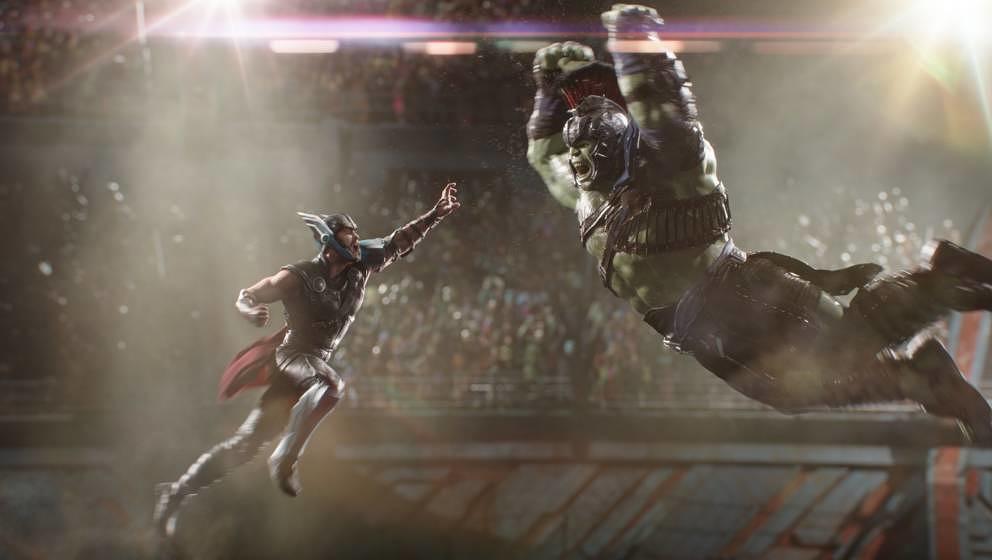 Thor kämpft gegen Hulk. Und es sieht aus wie in einem schlechten Videospiel.