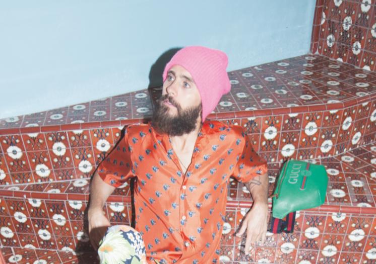 Coverboy der neuen Musikexpress Style: Jared Leto