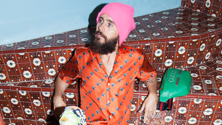 Coverboy der neuen Musikexpress Style: Jared Leto