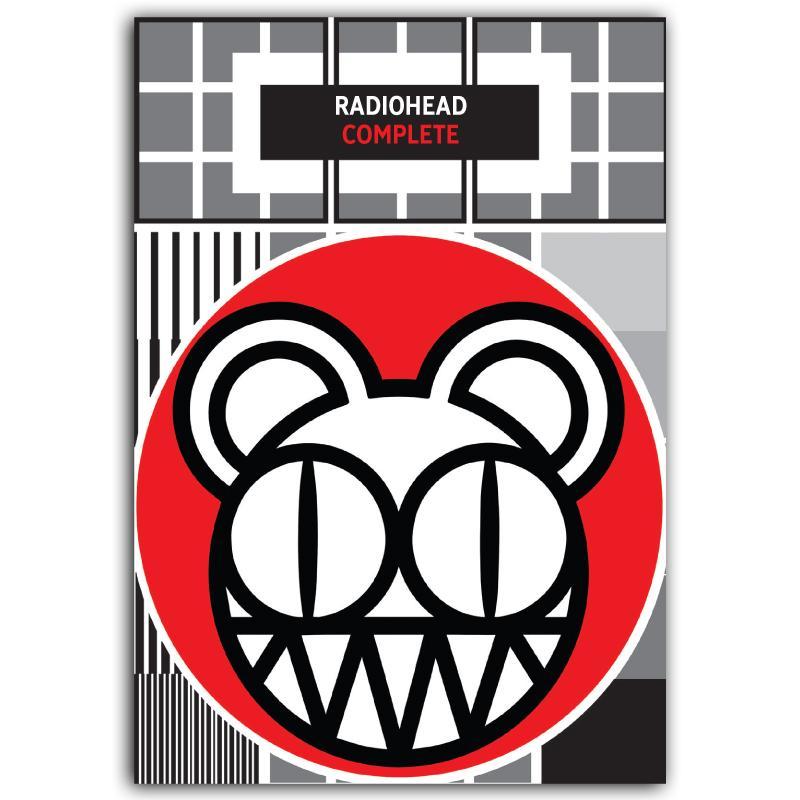 Alle Radiohead-Songs in einem Buch. Viel Spaß beim Üben!