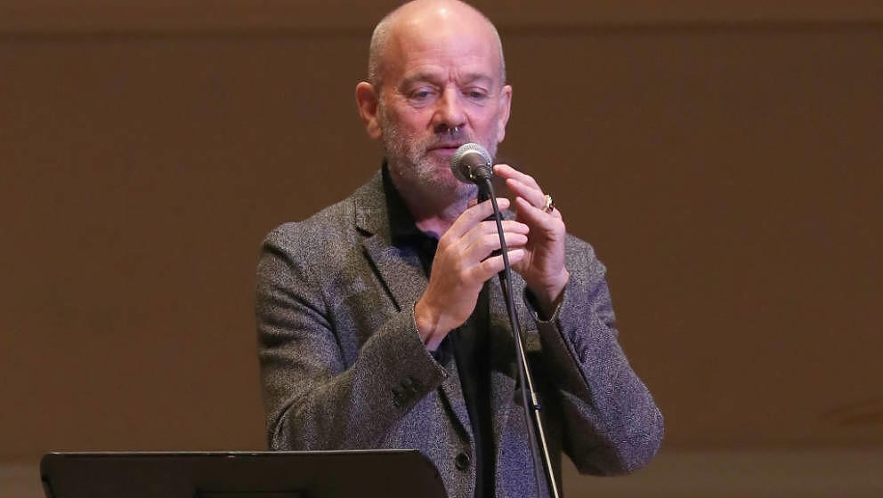 "Michael Stipe live beim ""Pathway To Paris""-Konzert am 5. November 2017 in der New Yorker Carnegie Hall"
