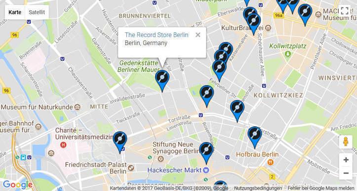 VinylHub, Screenshot, Berlin, The Record Store