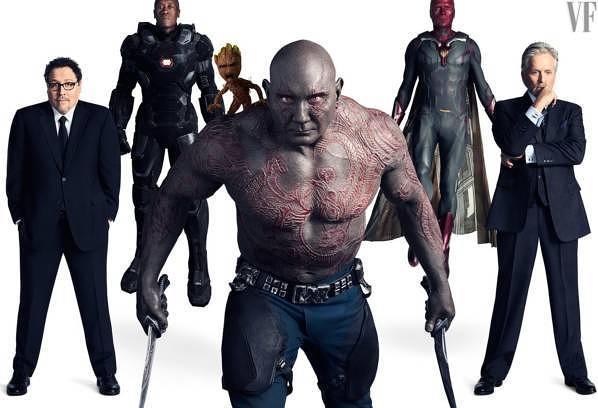 """Spielzeug Rund Um Den Neuen Superhelden: """"Avengers 3: Infinity War"""": Alle Marvel-Helden Im Fotoshooting"""