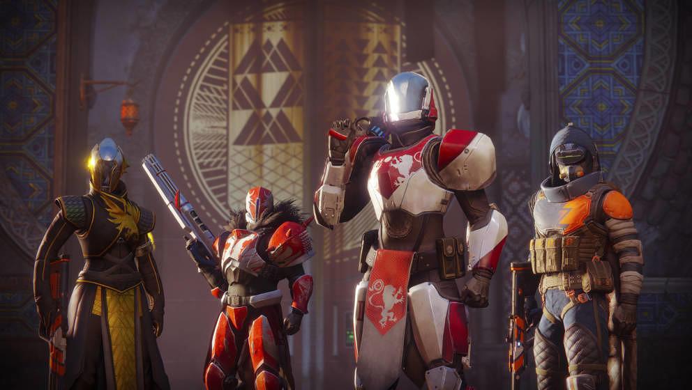 Die Hüter aus Destiny 2