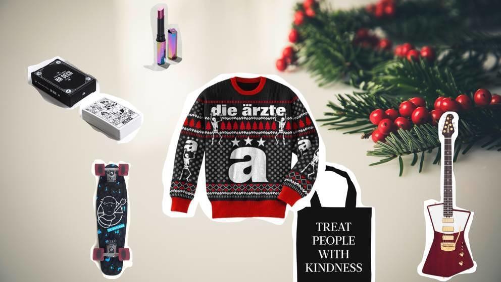 Dieses Jahr gibt es nicht nur Band-T-Shirts zu Weihnachten. Yuhey!