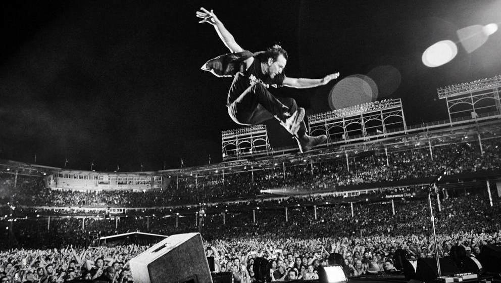 Eddie Vedder live im Wrigley Field in Chicago