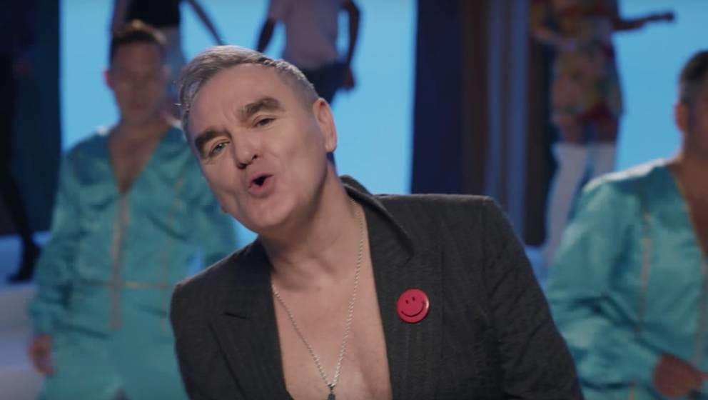 "Morrissey in seinem neuen Video zu ""Jacky's Only Happy When She's Up On The Stage"""