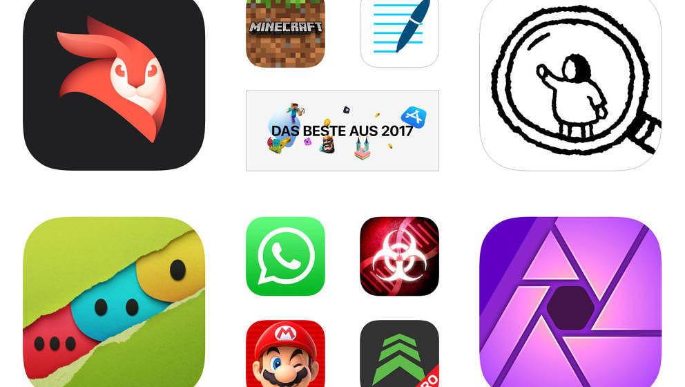 Die erfolgreichsten Apps des Jahres 2017