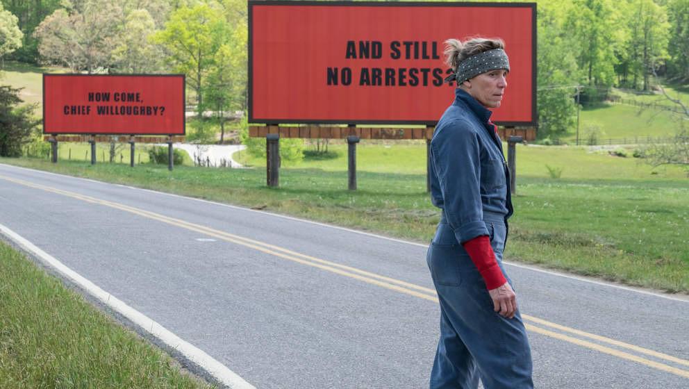 """Frances McDormand sucht in """"Three Billboards"""" nach Gerechtigkeit. Und richtet pures Chaos an."""