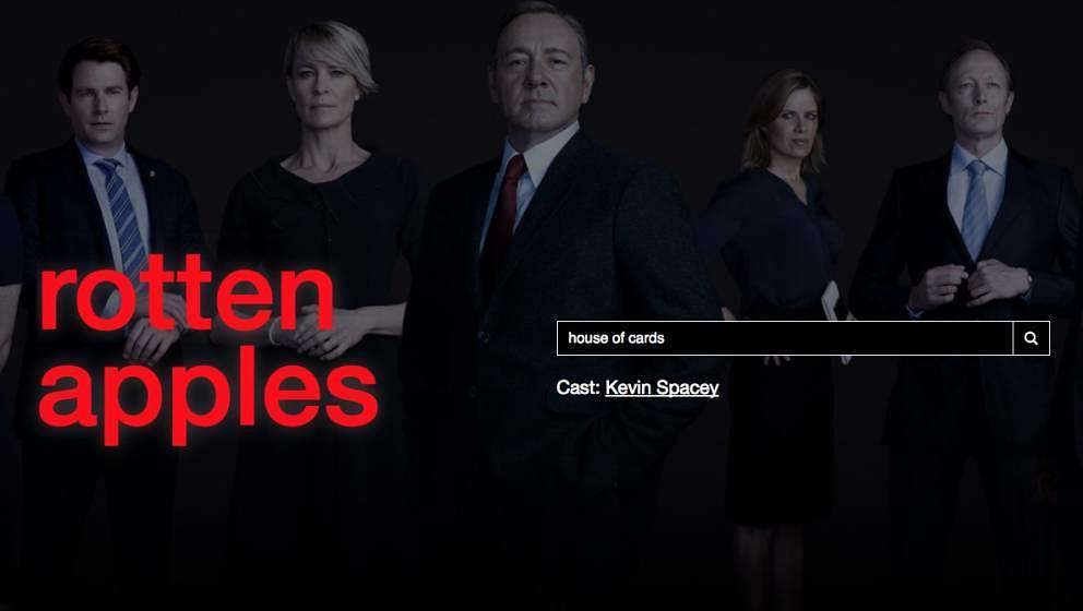 """Die Website """"Rotten Apples"""""""