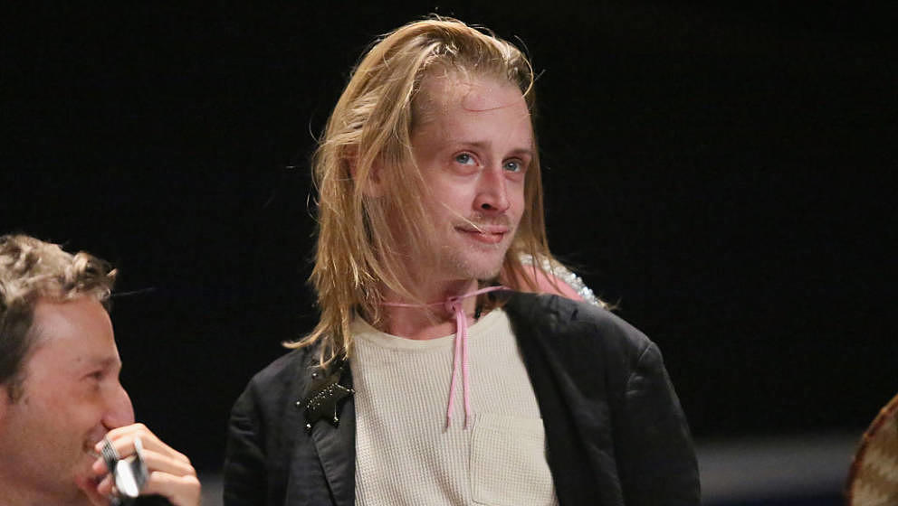 NEW YORK, NY - OCTOBER 09: Macaulay Culkin attends The Adult Swim RobotChicken Panel At New York Comic Con 2014 at Jacob Javi