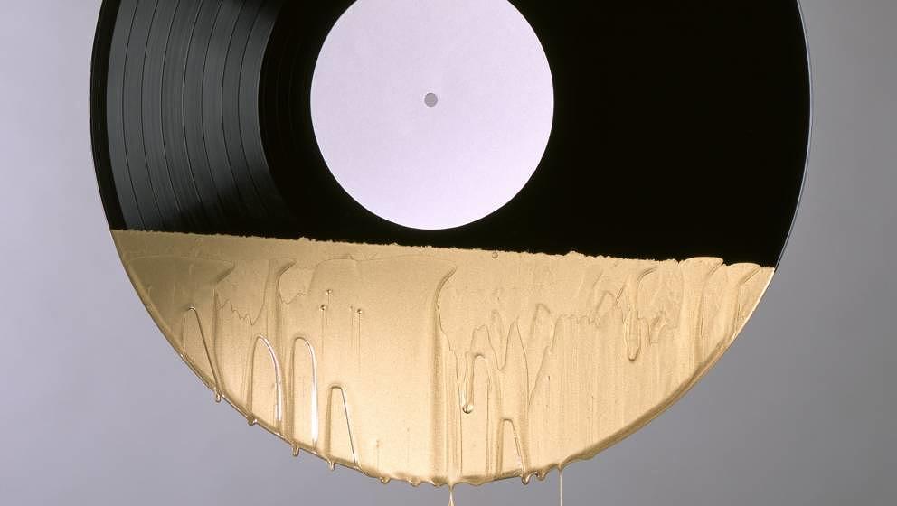 Vielleicht wäre sogar diese Platte mit Goldüberzug günstiger bei Discogs weggekommen