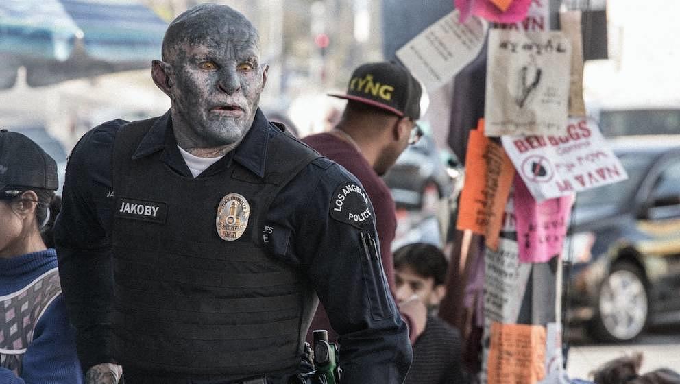 Joel Edgerton wird durch tolles Make-up zum Ork.