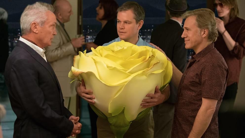 Udo Kier, Matt Damon und Christoph Waltz.