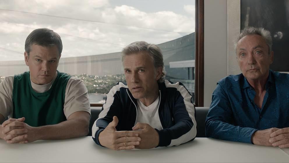 Matt Damon, Christoph Waltz und Udo Kier.