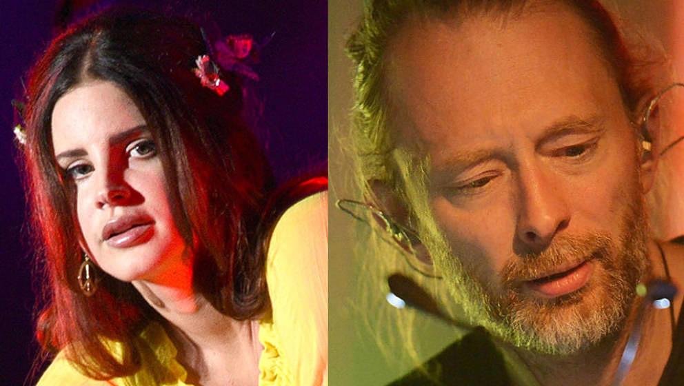 """Streiten sich über die Ähnlichkeit zweier Songs:  Lana Del Rey soll mit """"Get Free"""" bei Radioheads """"Creep"""" geklaut h"""
