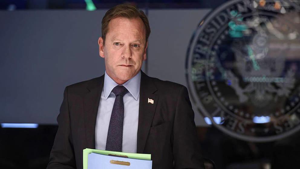 """Vom Outlaw zum Präsident: Kiefer Sutherland, weltbekannt als Jack Bauer in """"24"""", hier in """"Designated Survivor"""""""