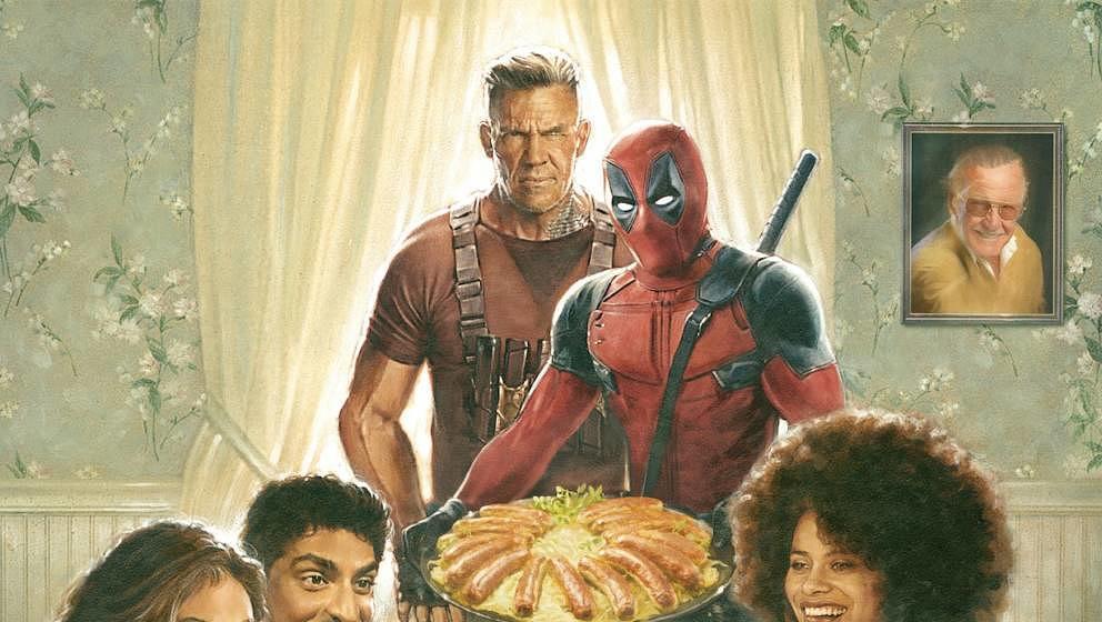 """Ausschnitt aus dem Poster zu """"Deadpool 2"""""""