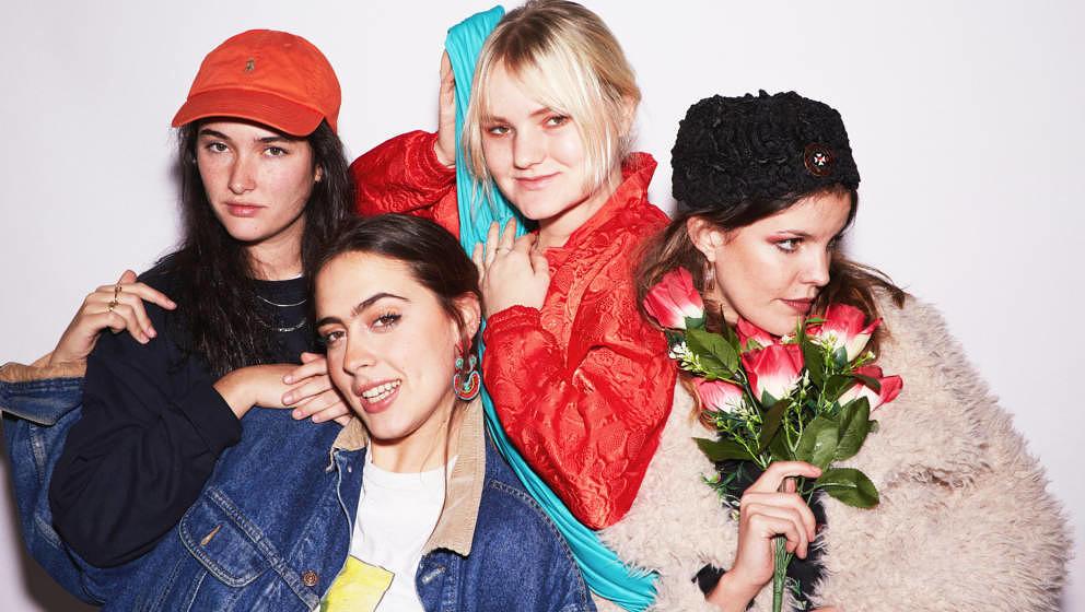 Veröffentlichen im April 2018 ihr neues Album I DON'T RUN: Hinds